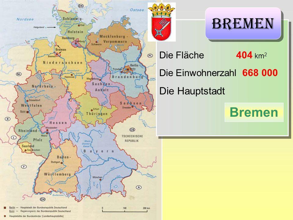 Bremen Bremen Die Hauptstadt Die Fläche 404 km2