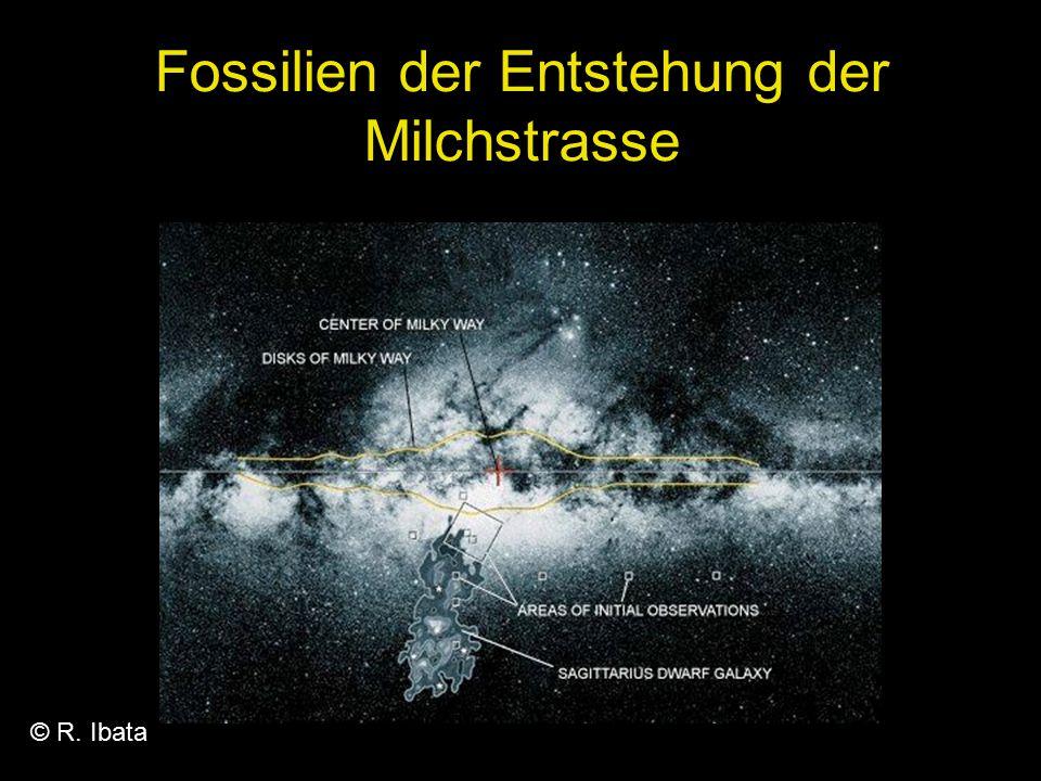 Fossilien der Entstehung der Milchstrasse
