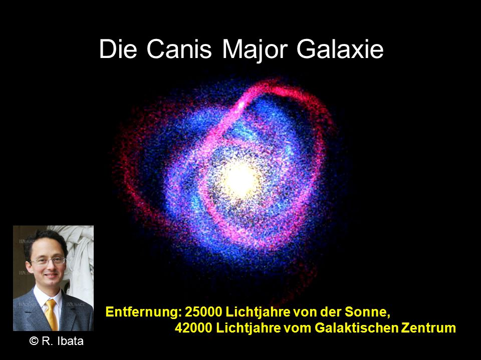 Die Canis Major Galaxie