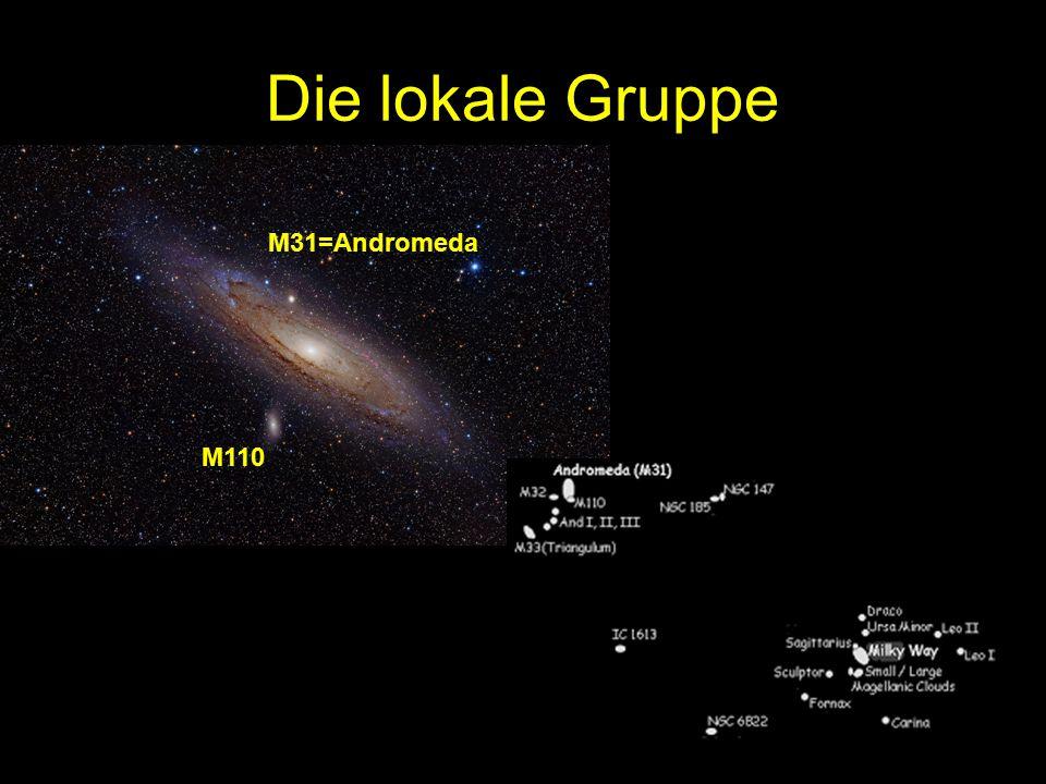 Die lokale Gruppe M31=Andromeda M110