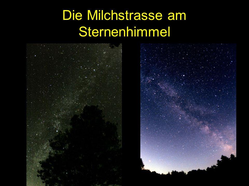 Die Milchstrasse am Sternenhimmel