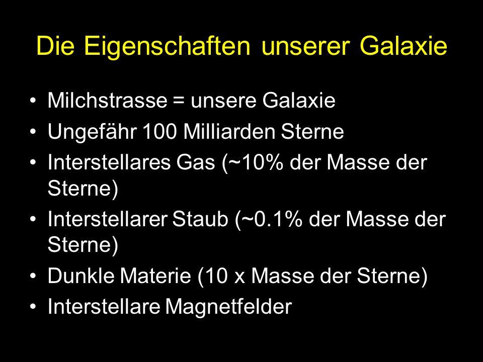 Die Eigenschaften unserer Galaxie