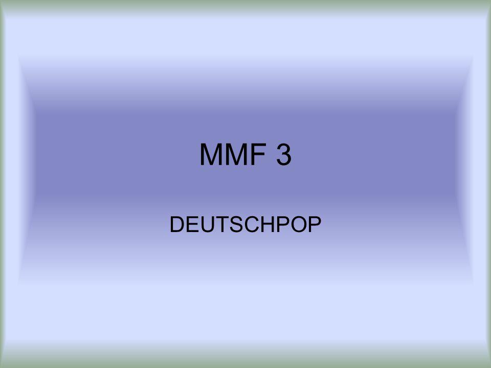 MMF 3 DEUTSCHPOP