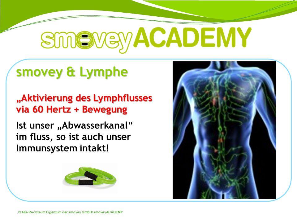 """smovey & Lymphe """"Aktivierung des Lymphflusses via 60 Hertz + Bewegung"""