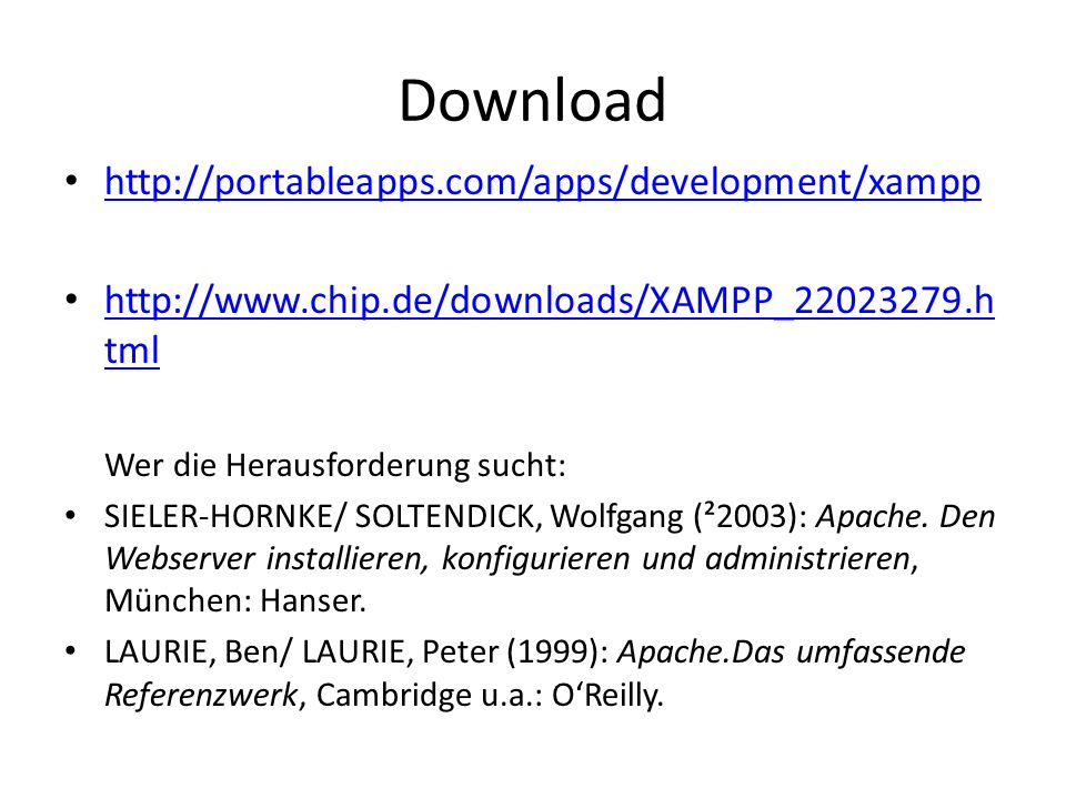 Download http://portableapps.com/apps/development/xampp