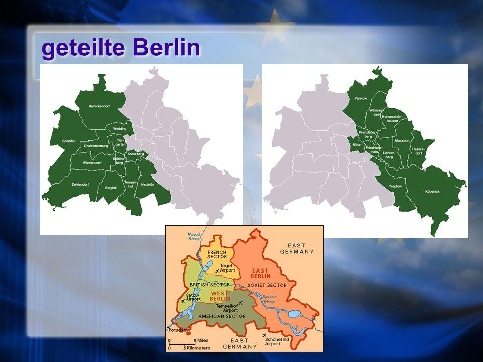 geteilte Berlin