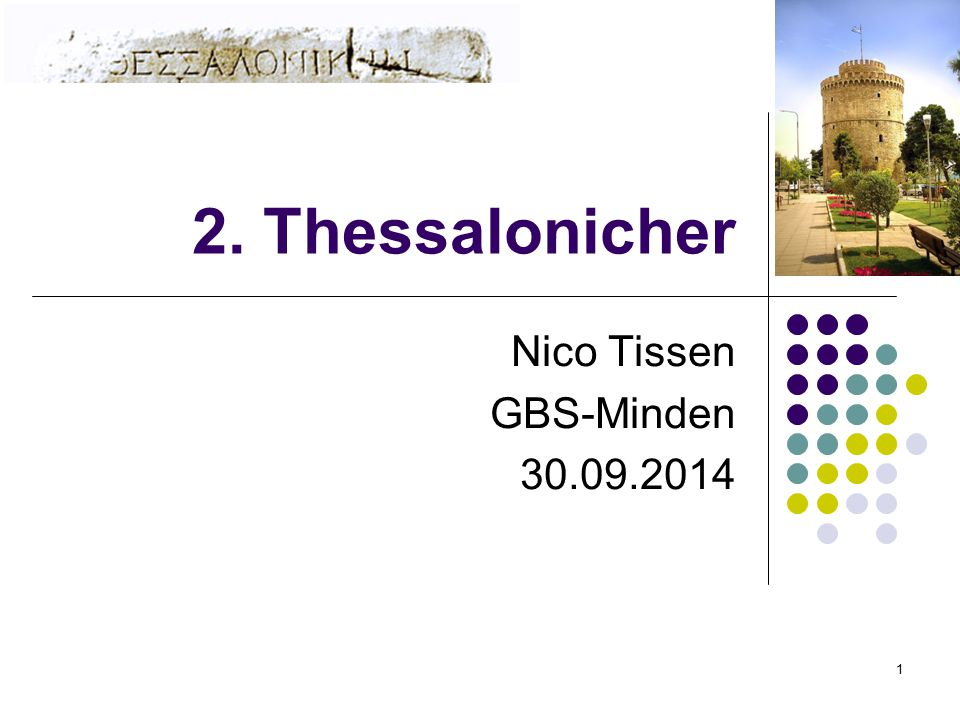 Nico Tissen GBS-Minden 30.09.2014
