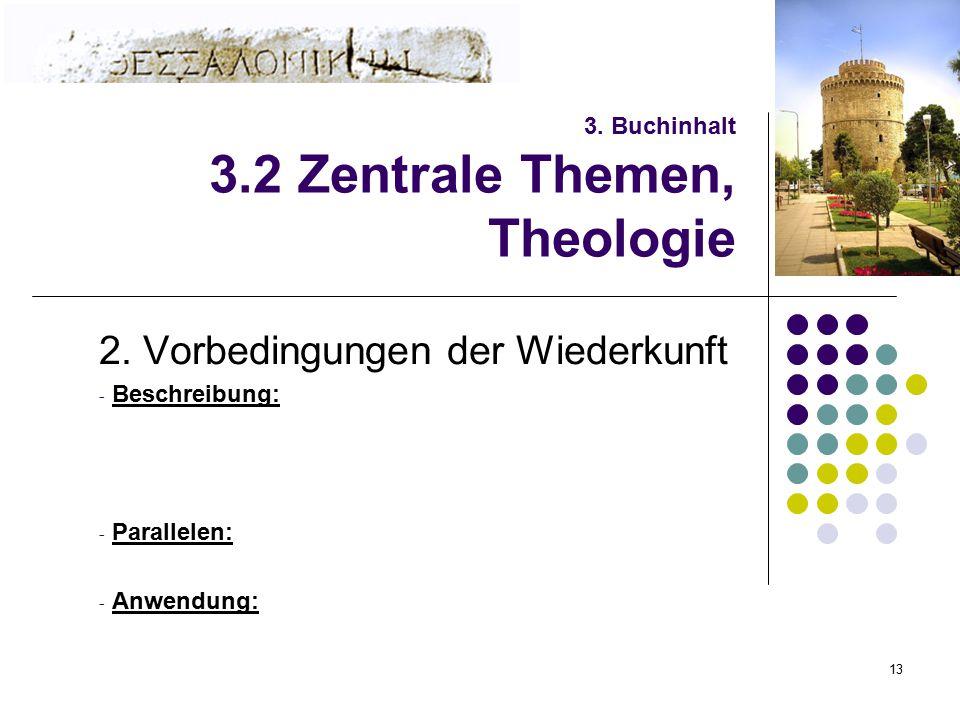 3. Buchinhalt 3.2 Zentrale Themen, Theologie