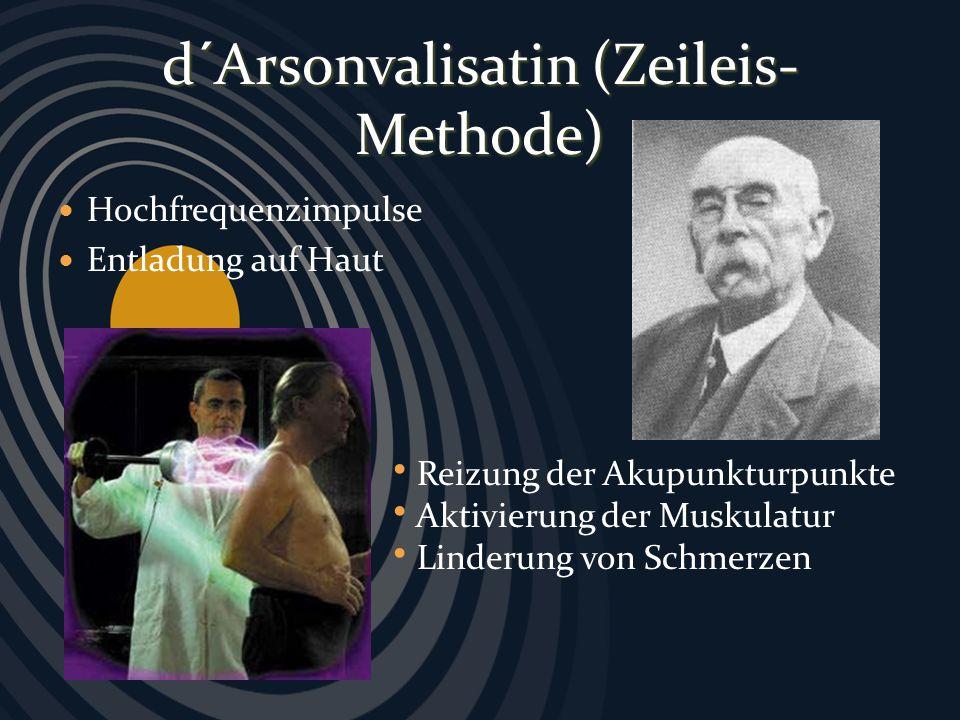 d´Arsonvalisatin (Zeileis-Methode)