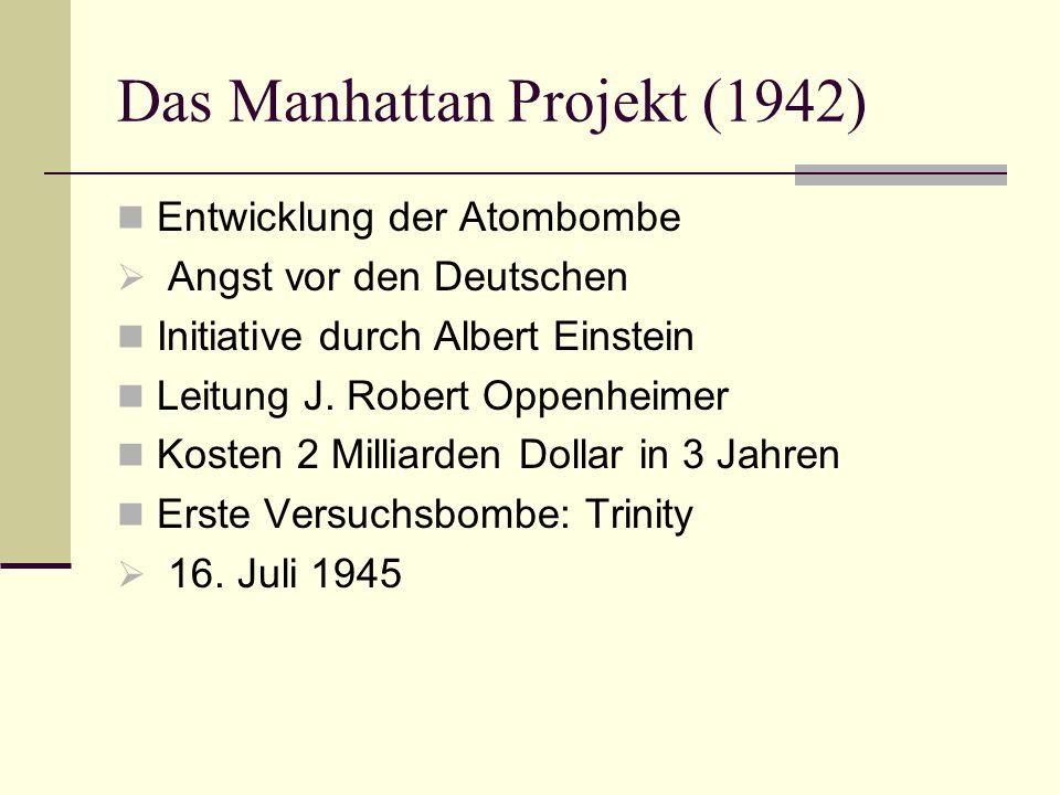 Das Manhattan Projekt (1942)