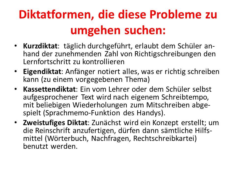 Diktatformen, die diese Probleme zu umgehen suchen: