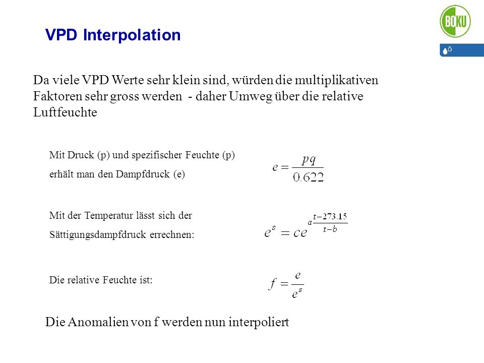 VPD Interpolation