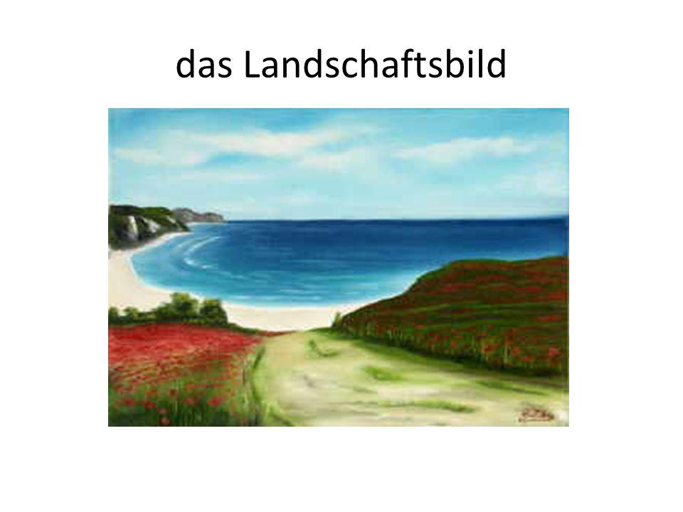 das Landschaftsbild