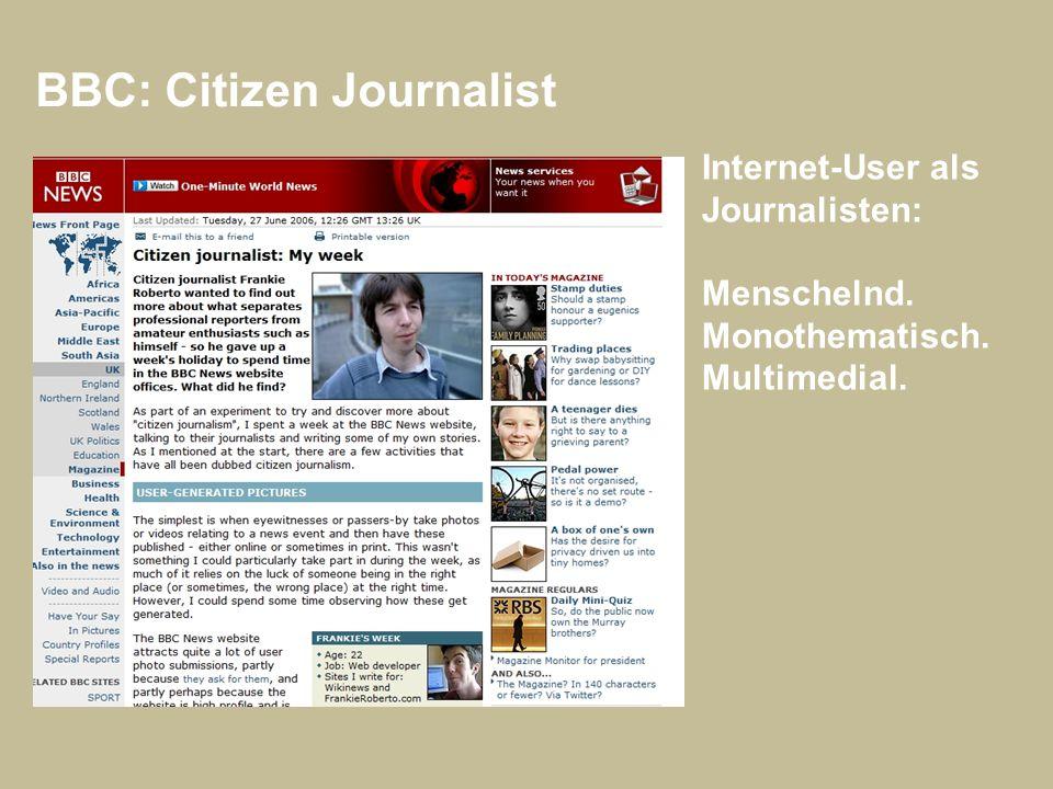 BBC: Citizen Journalist