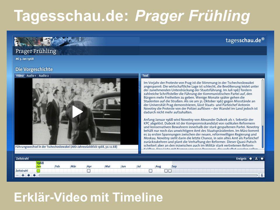 Tagesschau.de: Prager Frühling