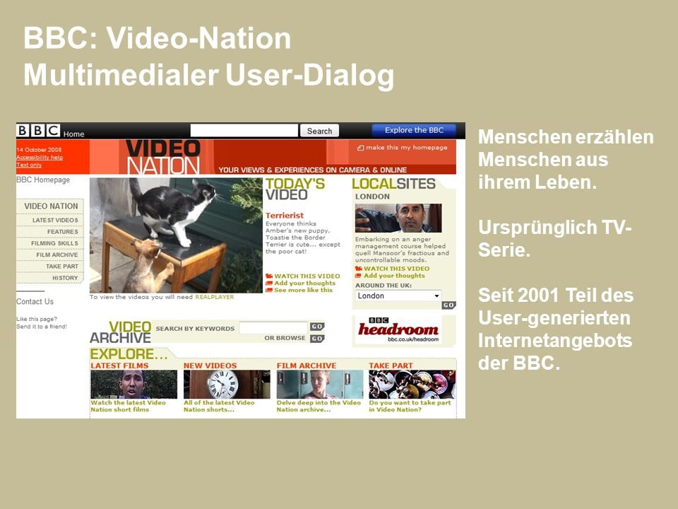 Multimedialer User-Dialog