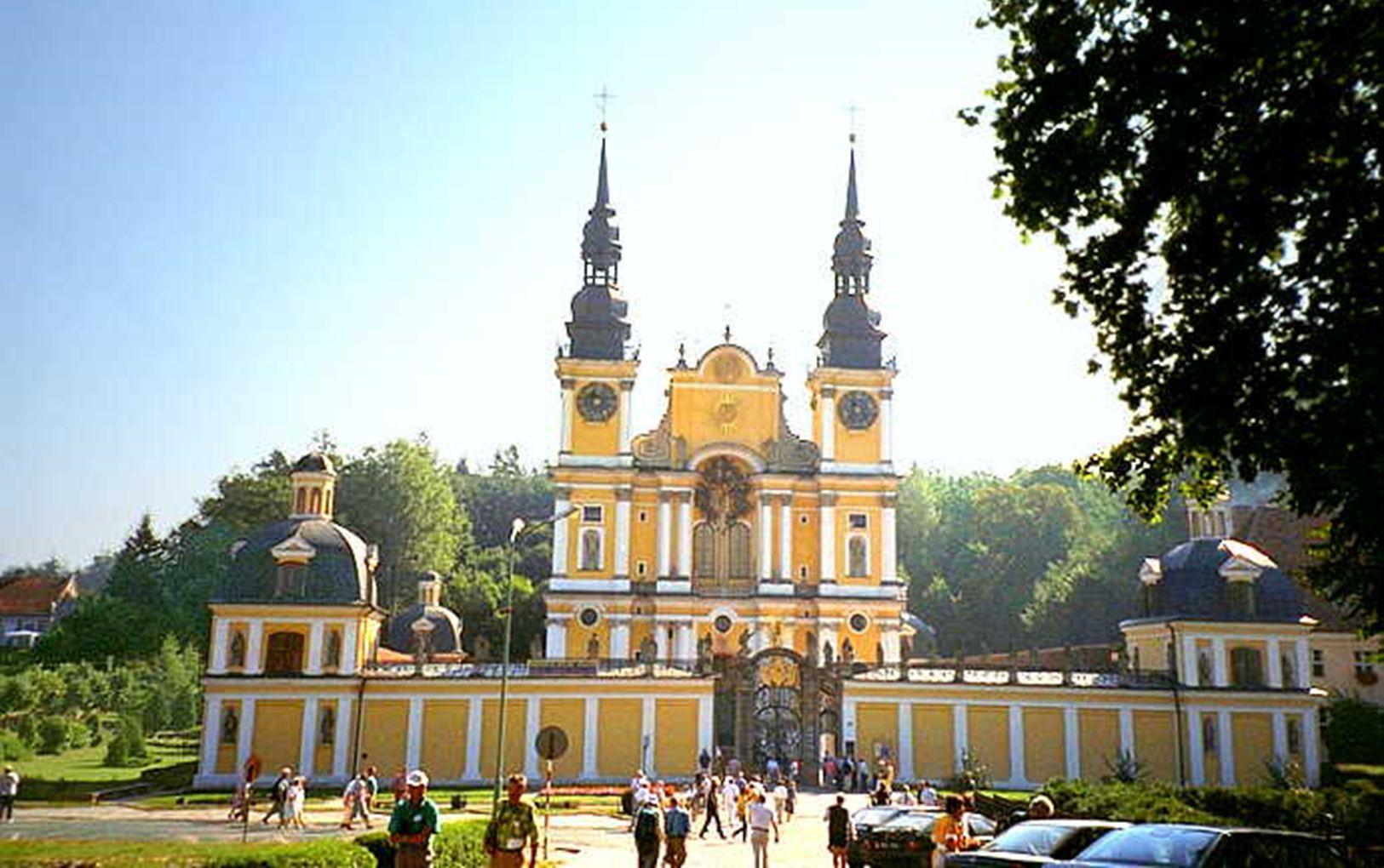 Die wunderschöne Barockkirche von Heiligelinde