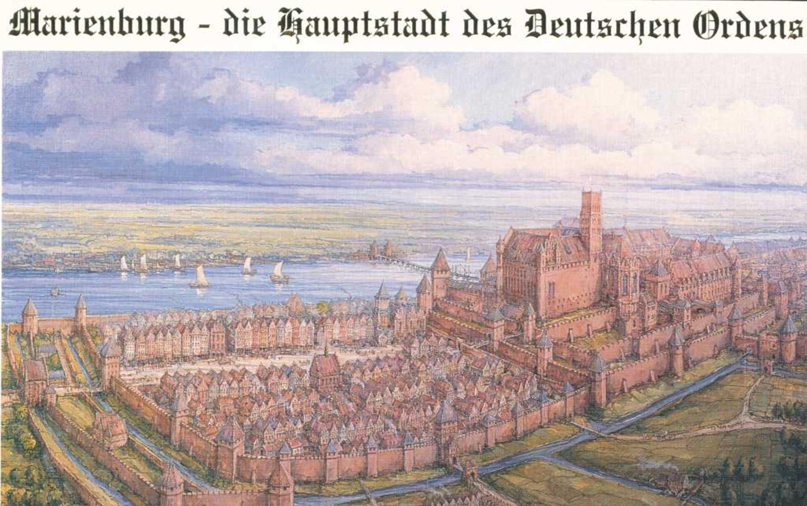 ein mittelalterliches Bild etwa zur Blütezeit im 15. und 16