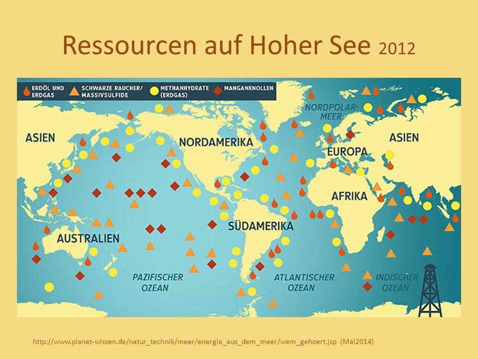 Ressourcen auf Hoher See 2012