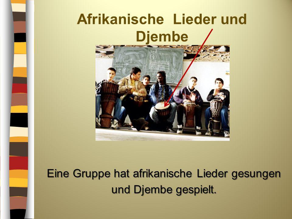 Afrikanische Lieder und Djembe