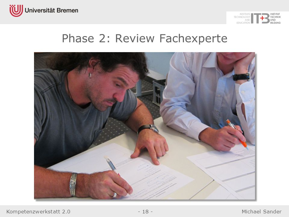 Phase 2: Review Fachexperte