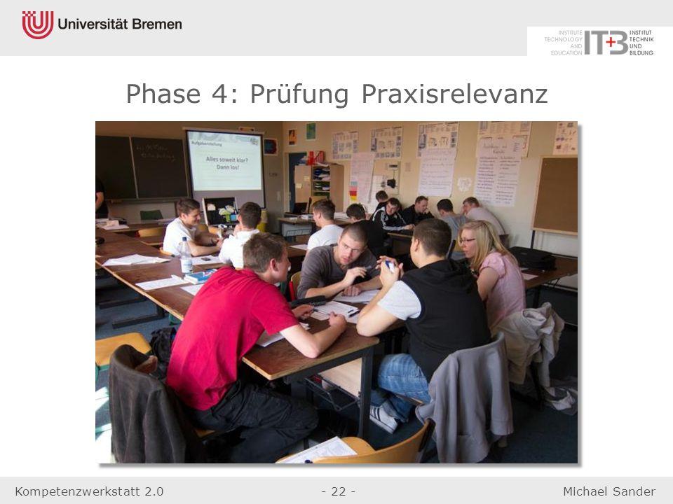 Phase 4: Prüfung Praxisrelevanz