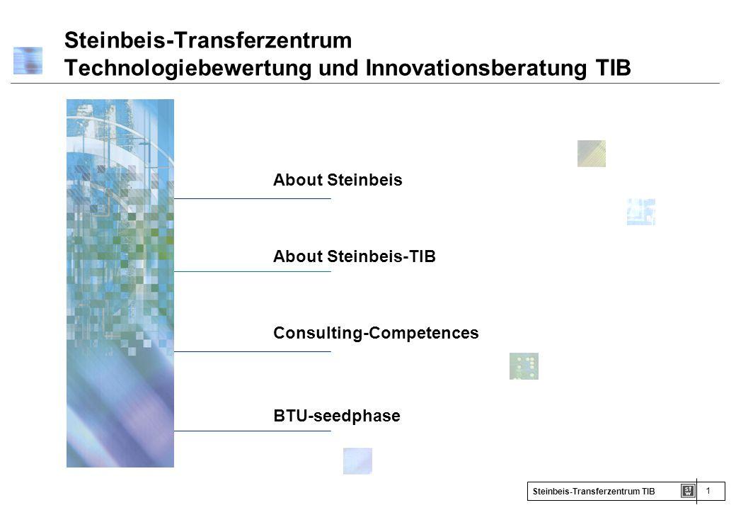 Steinbeis-Transferzentrum Technologiebewertung und Innovationsberatung TIB
