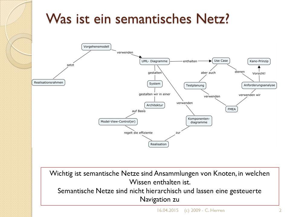 Was ist ein semantisches Netz