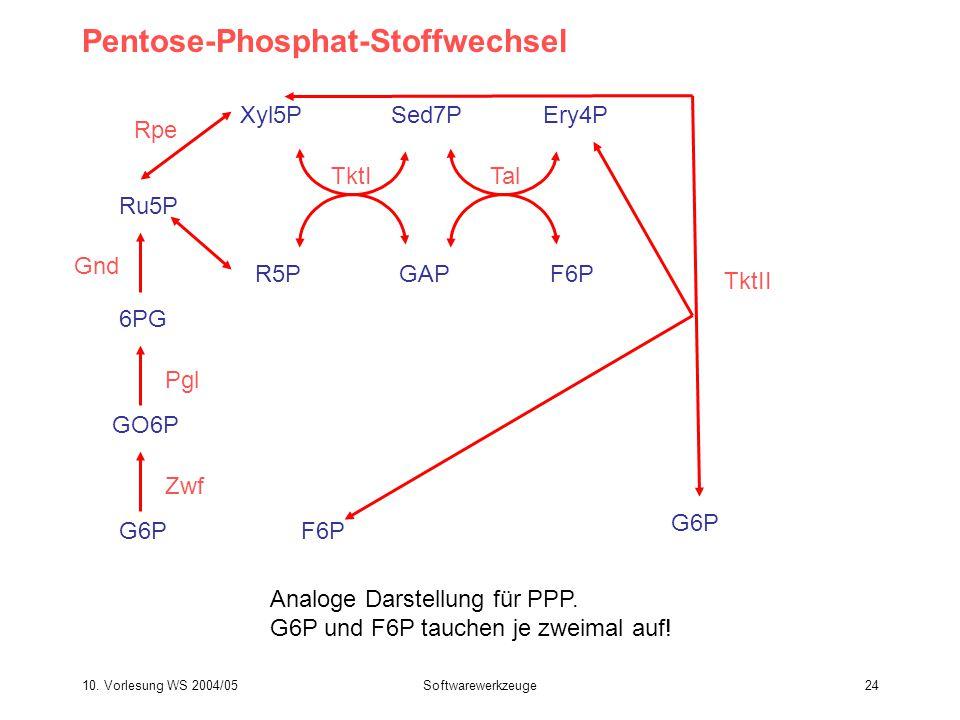Pentose-Phosphat-Stoffwechsel