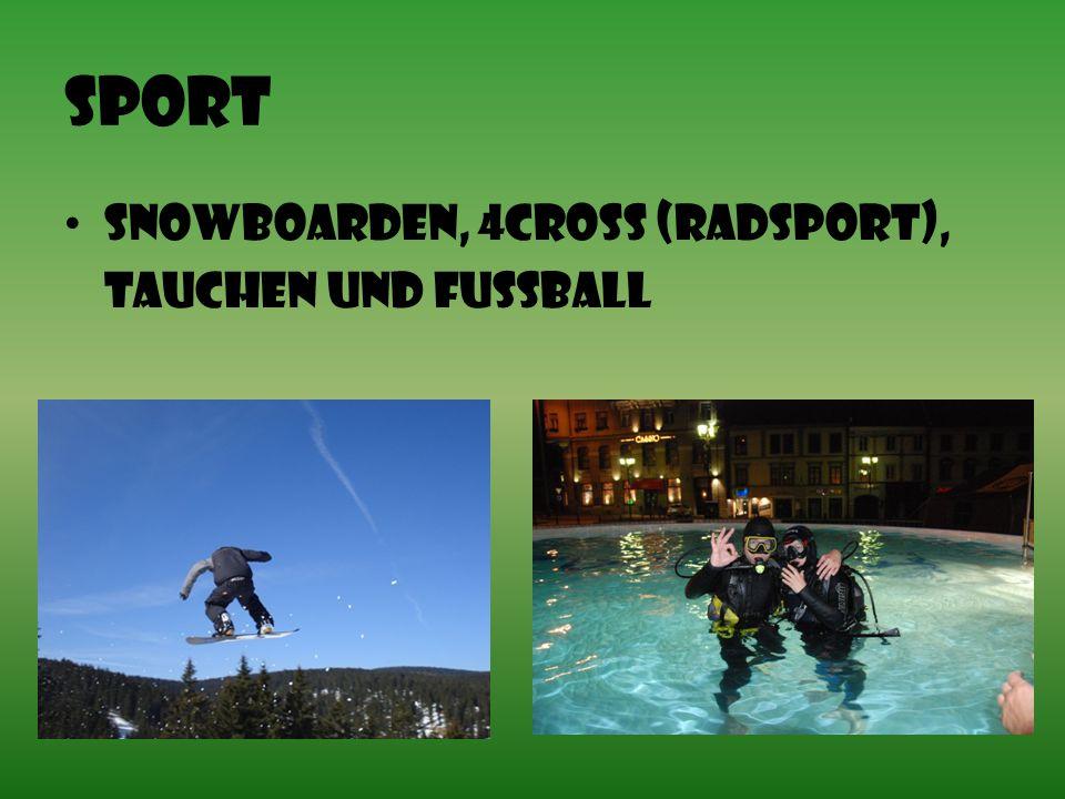 Sport Snowboarden, 4Cross (Radsport), Tauchen Und Fußball