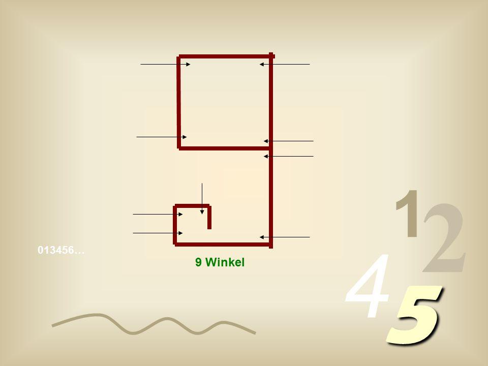 1 2 4 013456… 5 9 Winkel