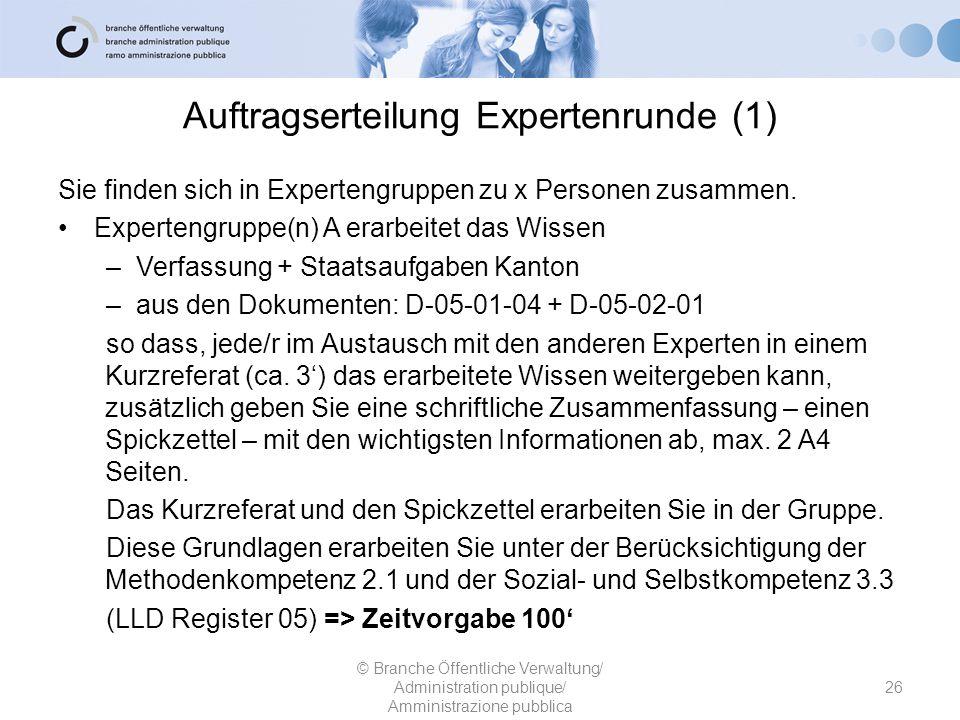 Auftragserteilung Expertenrunde (1)