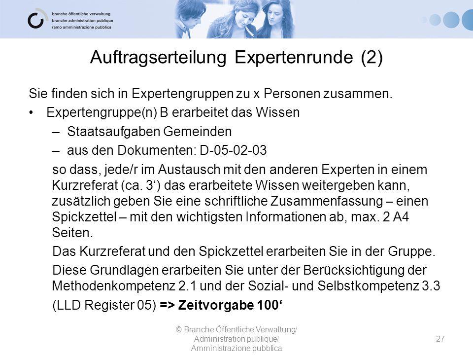 Auftragserteilung Expertenrunde (2)