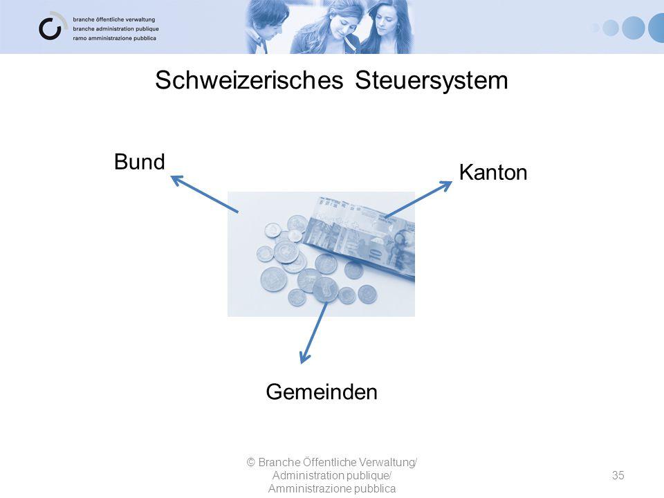 Schweizerisches Steuersystem