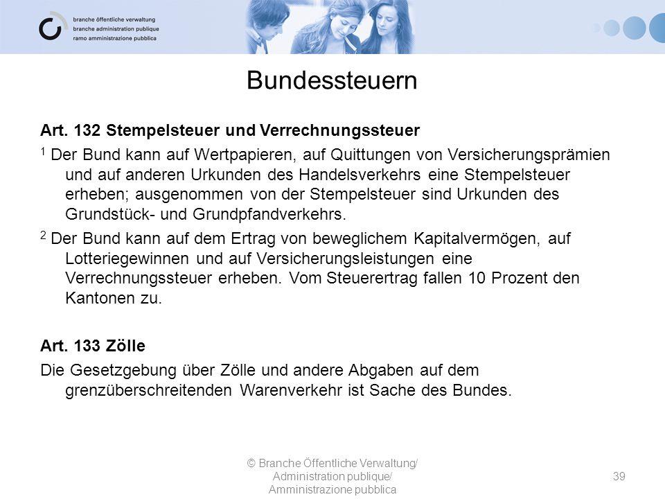 Bundessteuern