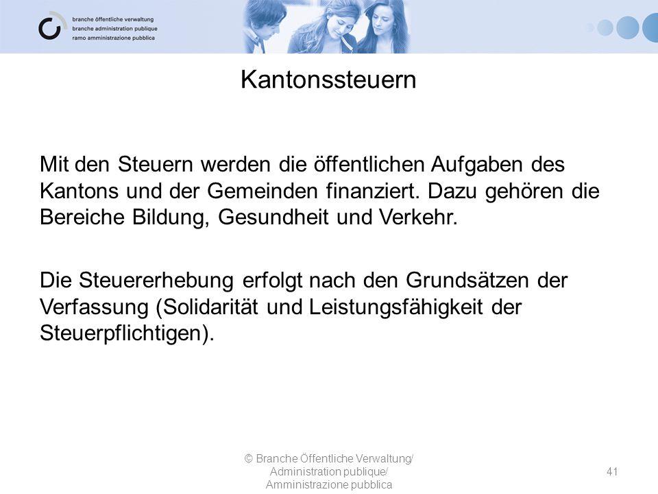 Kantonssteuern