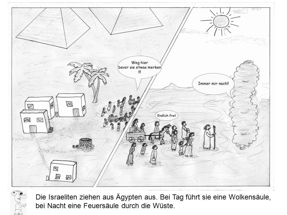 Die Israeliten ziehen aus Ägypten aus