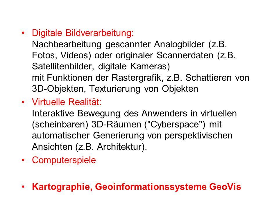 Digitale Bildverarbeitung: Nachbearbeitung gescannter Analogbilder (z