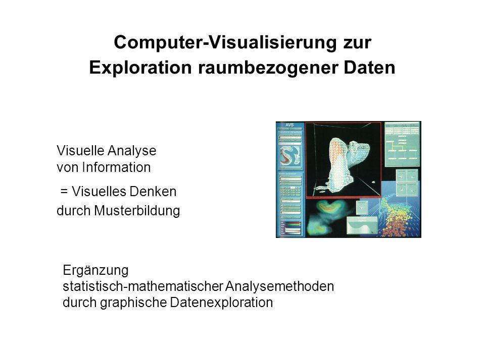 Computer-Visualisierung zur Exploration raumbezogener Daten