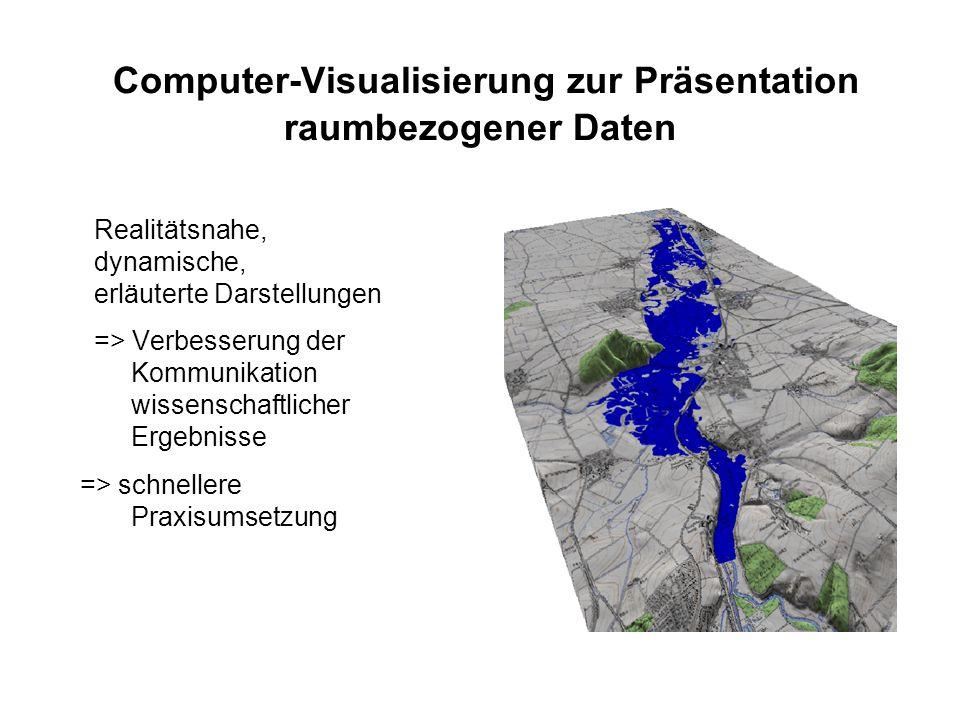 Computer-Visualisierung zur Präsentation raumbezogener Daten