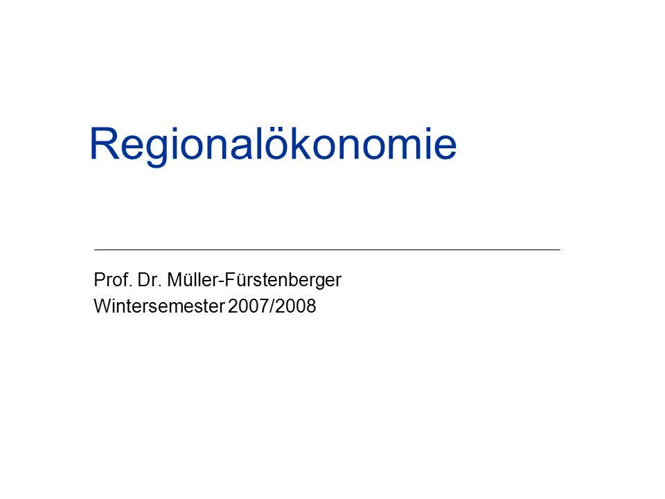 Prof. Dr. Müller-Fürstenberger Wintersemester 2007/2008