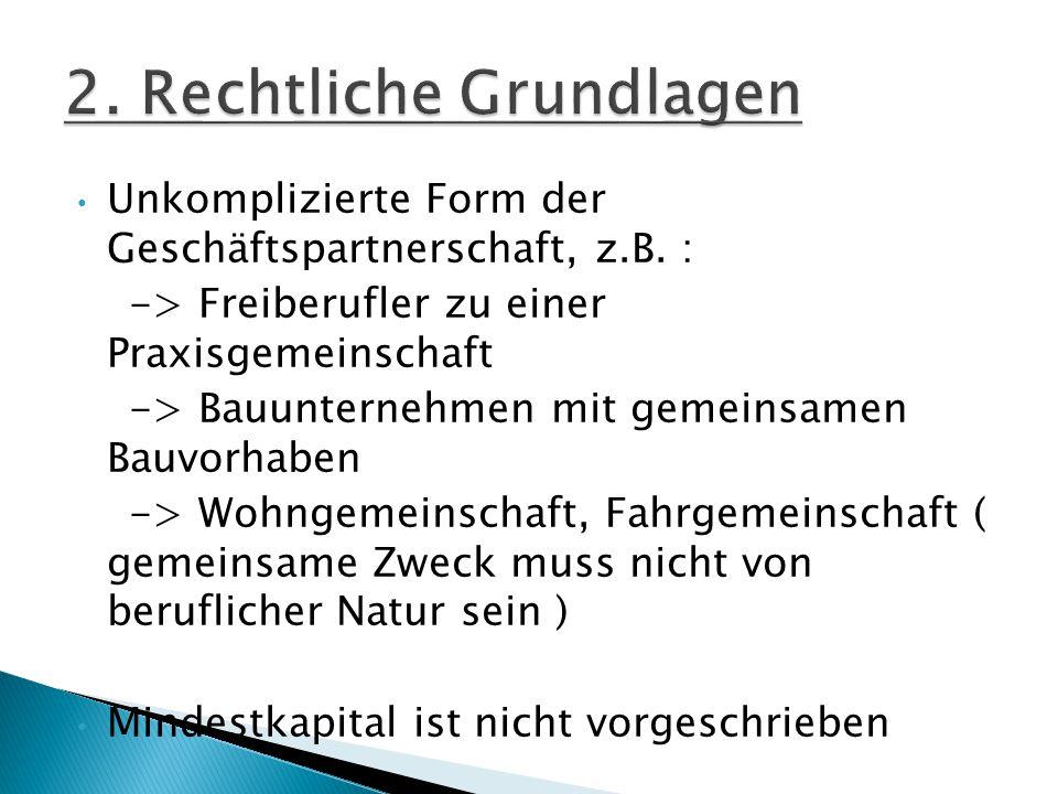 2. Rechtliche Grundlagen