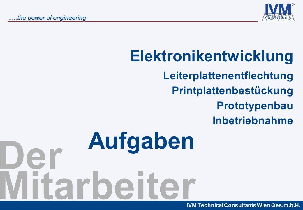 Der Mitarbeiter Aufgaben Elektronikentwicklung