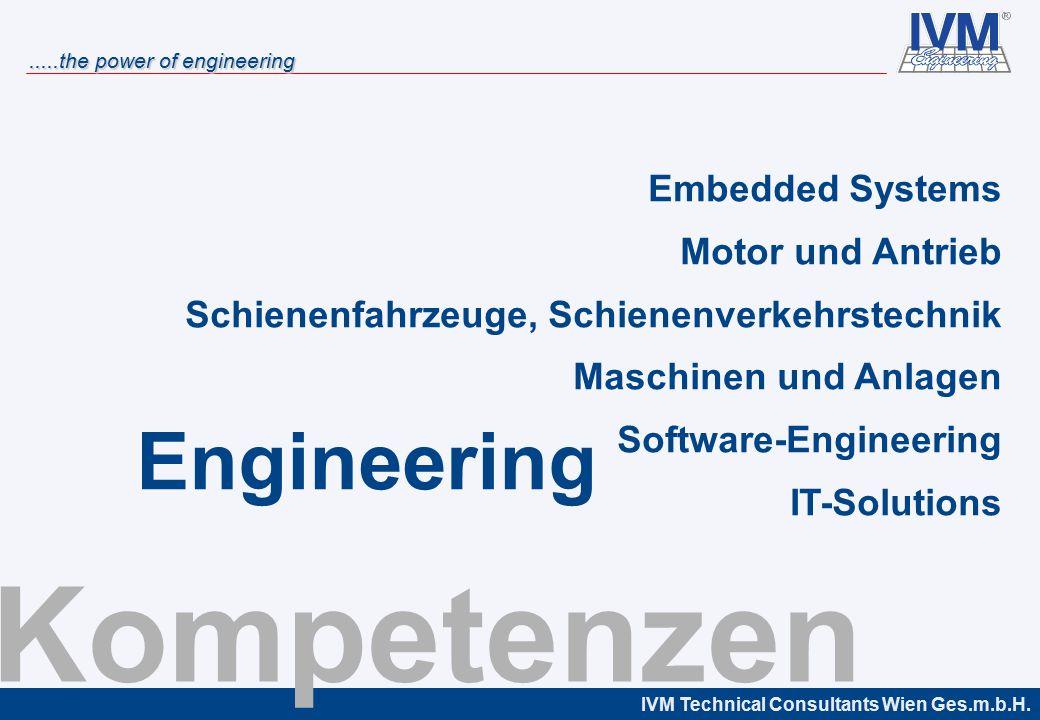 Kompetenzen Engineering Embedded Systems Motor und Antrieb