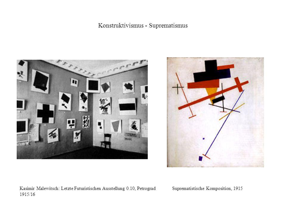 Konstruktivismus - Suprematismus