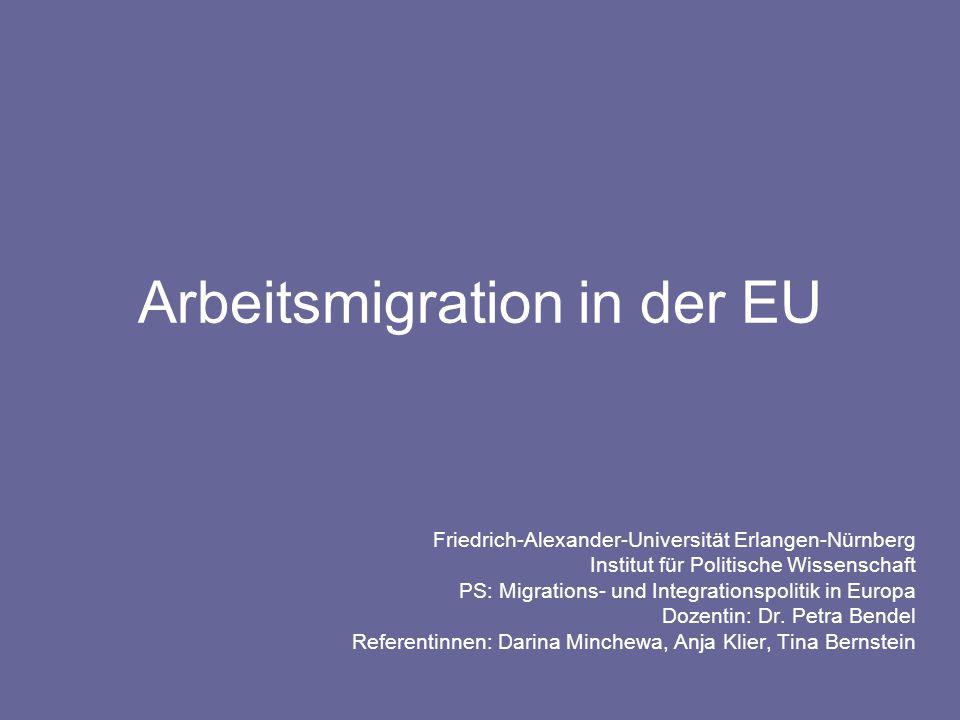 Arbeitsmigration in der EU