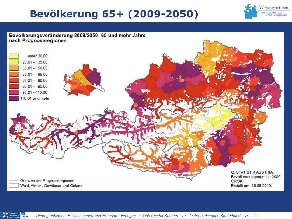 03/27/09 Bevölkerung 65+ (2009-2050)