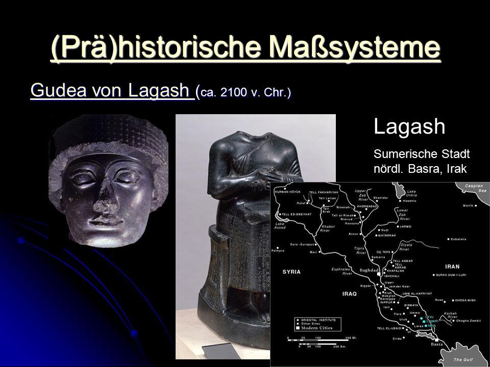(Prä)historische Maßsysteme