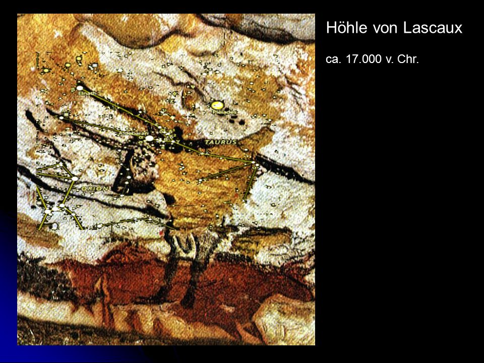 Höhle von Lascaux ca. 17.000 v. Chr.