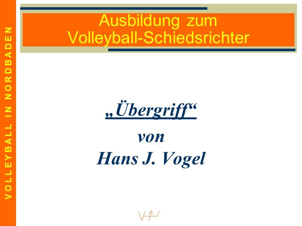Ausbildung zum Volleyball-Schiedsrichter